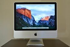 "Apple iMac A1224 20"" Intel Core 2 Duo 2.66Ghz,2GB RAM,320GB HDD,Airport,Blue"