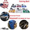 CNC Complete Fairing Bolts Kit Bodywork Screws Fasteners Nuts for Kawasaki Ninja