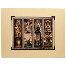 NEW Disney WonderGround Haunted Mansion Stretch Painting Characters by Wilson