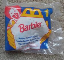 MCDONALDS 1995 BARBIE #1 HOLIDAY  BARBIE NEW Sealed, Vintage - FAST SHIPPING