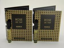 2 x Perris Monte Carlo Rose de Taif Vial Sample Spray EDP 0.06 fl oz 2ml