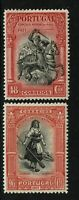 Portugal SC# 432 and 434, Mint Hinged, Hinge Remnant, gum creasing - S6639