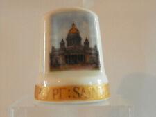"""Dé à coudre collection en porcelaine  """"Saint petersburg"""""""