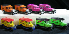 (8) Kellogg's Promotional Delivery Trucks, Matchbox, Premiums, Cereal, Me1