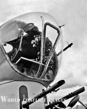 USAAF WW2 B-17 Bomber Nine-O-Nine Nose Gun Turret #7 8x10 Photo 91st BG