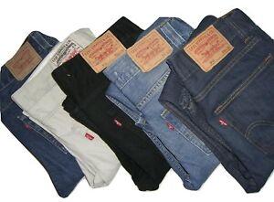 Mens Genuine LEVIS 512 Bootcut Denim Jeans W30 W31 W32 W33 W34 W36 W38 W40
