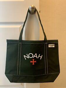 Noah core logo tote bag Fw20 green authentic brand new Supreme