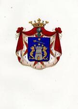 Araldica stemma araldico della famiglia Cantini