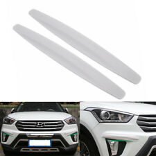 "16"" Car Carbon Fiber Front&Rear Bumper Protector Corner Guard Scratch Sticker"