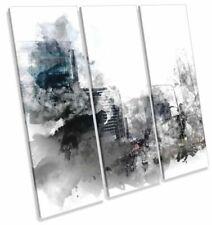 Canvas Cityscapes White Art Prints
