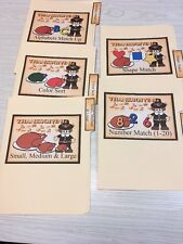 Thanksgiving - 5 File Folder Set - Activity Set - Teaching -