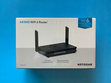 Netgear AX1800 Dual Band WiFi 6 Router Model #RAX20