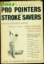 Golf Magazine's Pro Pointers & Stroke Savers Book Hardcover w/ Dj Gene Sarazen