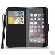 Leather Wallet Flip Case Cover For APPLE iPHONE 6/6S PLUS/5S/5C/4S&Film &Big Pen