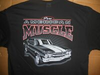 Pure American Muscle Car 1970 Chevrolet Chevelle T-Shirt 70 Chevy SS Shirt