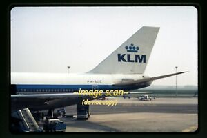 KLM Airlines Boeing 747 Aircraft in early 1970's, Original Slide d23a