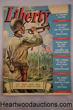 "Liberty Jun 5, 1943 Emmett Watson Cvr, , Gracie Allen, Reno ""Dice Girls"" - High"