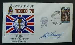 Alf Ramsey Signed Mexico '70 World Cup FDC