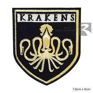 Kraken Legendary Sea Monster Disney Iron On Sew On Embroidered Patch Badge