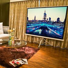 "72"" inch HD Projecter Screen Home Cinema Projection Fabric 16:9 Conference Room"