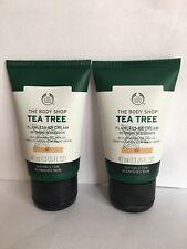 Lot Of 2 x The Body Shop Tea Tree Flawless BB Cream Shade 02 New
