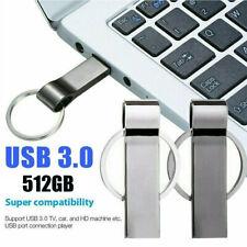 USB 3.0 Stick Metall 512GB Flash Laufwerk Schlüsselanhänger Speicherstick U-Disk