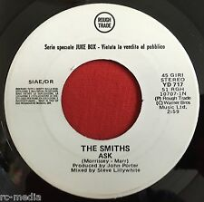 THE SMITHS - Ask - Rare Italian White Label Promo / Juke Box  (vinyl record)