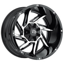 New Listing4 Vision 422 Prowler 20x12 8x65 51mm Blackmachined Wheels Rims 20 Inch Fits More Than One Vehicle