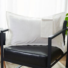 2Pcs Pillowcases Cover Egyptian Cotton Solid Color Pillow Shams Pillow Cover
