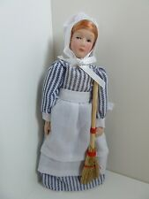 Dolls House Miniature 1:12th Scale Doll Kitchen Laundry Rennie Bendable Doll