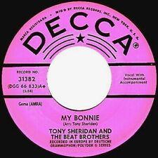 "Beatles 45 PROMO ""MY BONNIE"" ORIGINAL DECCA (NM-) 1962"