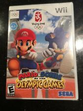 Mario & Sonic at the Olympic Games - Nintendo Wii Brand New Factory Sealed