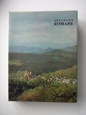 AUVERGNE ROMANE - EDITIONS ZODIAQUE 1972