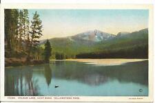 Postcard - Sylvan Lake on Cody Road - Yellowstone. Unposted. J E Haynes