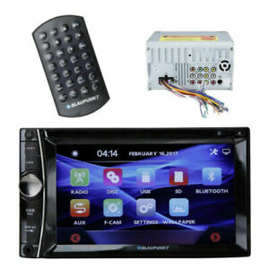 "BLAUPUNKT MEMPHIS 440BT DOUBLE DIN 6.2"" TOUCHSCREEN DVD RECEIVER BLUETOOTH"