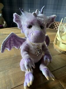Charlie Bears Charms Mohair Dragon, Limited Edition. New With Bag. Sold Out