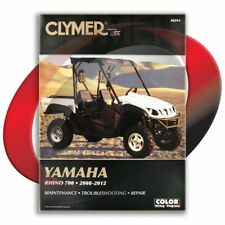 2008-2009 Yamaha Rhino 700 Repair Manual Clymer M291 Service Shop Garage