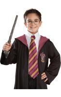 Harry Potter Wizard Hogwarts School Gryffindor House Fancy Dress Costume Tie