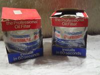 PER-49 Purolator Classic Oil Filters Lot of 2