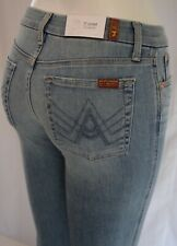 "Seven 7 For All Mankind A"" POCKET FLARE Jean Women 26 DESERT HEIGHTS light blue"