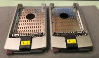 LOT OF 2 HP Proliant Hard Drive Caddy Tray 36GB 10K Ultra320 SCSI 289041-001