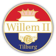 Willem II FC Netherlands Soccer Football Car Bumper Sticker Decal 5'' x 5''