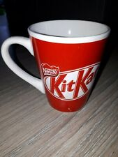 Nestle KitKat coffee tea mug red