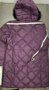 Columbia Women's Plus Size ICY Heights II Mid Length Down Jacket, Blk Cherry 1XL