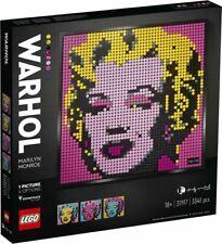 LEGO Art: Andy Warhol's Marilyn Monroe (31197)