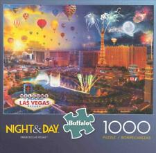 Night and Day Fabulous Las Vegas Jigsaw Puzzle 1000 Pieces