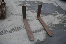 More details for forklift 1m tines pair of fork lift forks 1000mm long