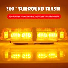 LED Rundumlicht Warnleuchten LED Rundumleuchte 24 LED 12V/24V Blitzlicht NEU