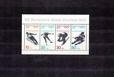 ALLEMAGNE Germany Bloc Feuillet Yvert N°  5 neuf XX luxe Jeux Olymp. SAPPORO 72