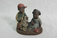 "Sarah's Attic Resin Figurine ""Brotherly Love"""